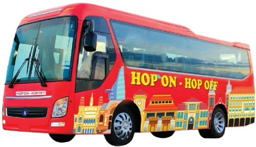Dịch vụ xe buýt 'Hop on Hop off'